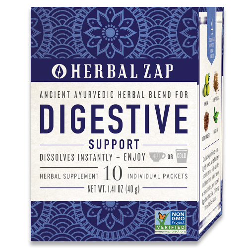 Herbal Zap Digestive Support 10pk