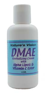 Nature's Vision DMAE Body Lotion 4oz