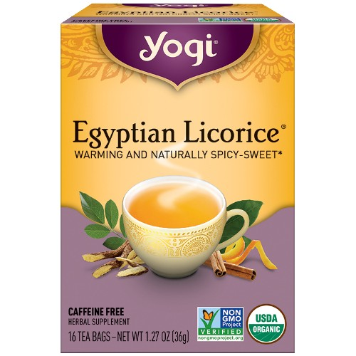 Yogi Tea Company Egyptian Licorice 16bg