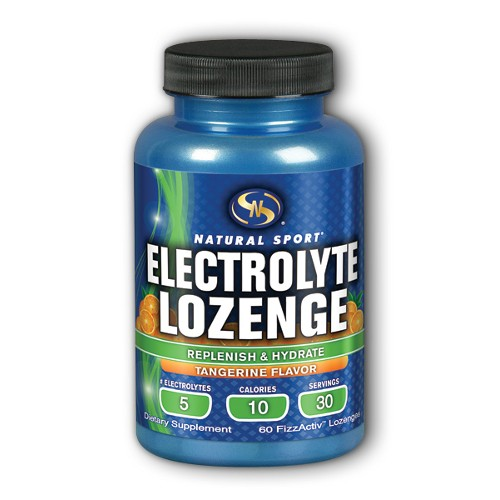 Natural Sport Electrolyte Lozenge 60ct