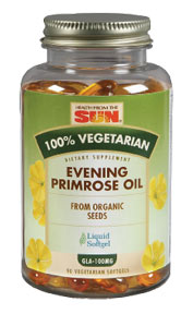 Health From the Sun 100% Vegetarian Evening Primrose 90sg