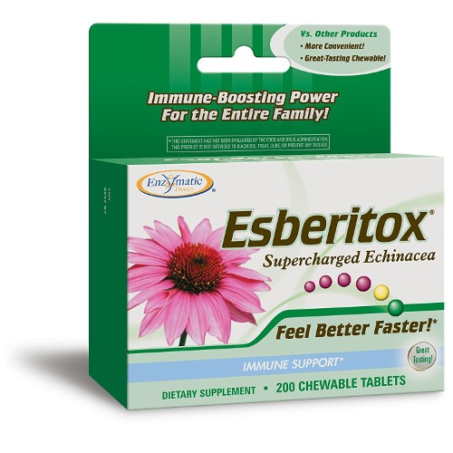 Enzymatic Therapy Esberitox Chew 200tb