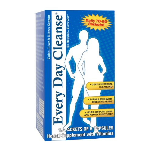 Health Plus Everyday Cleanse 15pk/6cp
