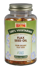 Health From the Sun 100% Vegetarian Flaxseed Oil 90sg