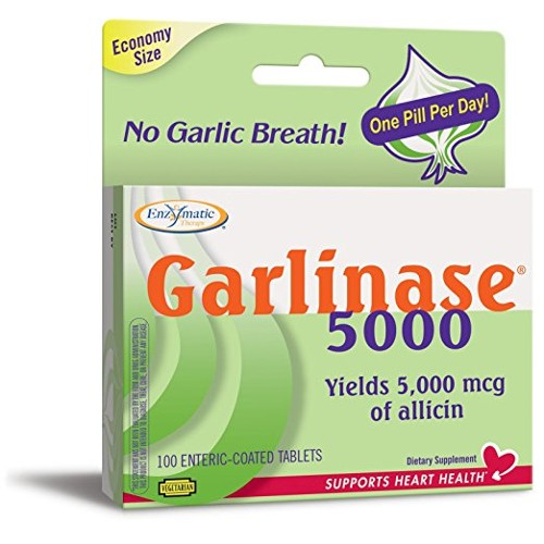 Enzymatic Therapy Garlinase 5000 100tb
