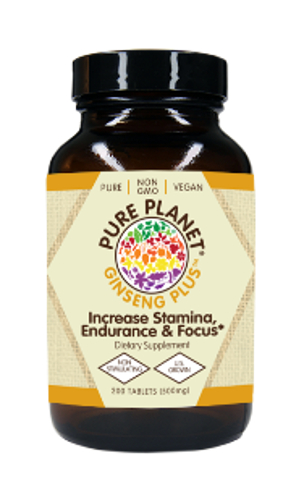 Pure Planet Ginseng Plus 500mg 200cp