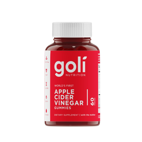 Goli Nutrition Apple Cider Vinegar Gummy 60ct