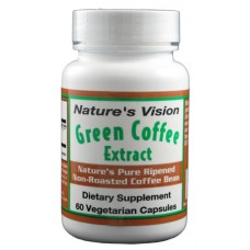 Nature's Vision Green Coffee Extract 400mg 60 VC