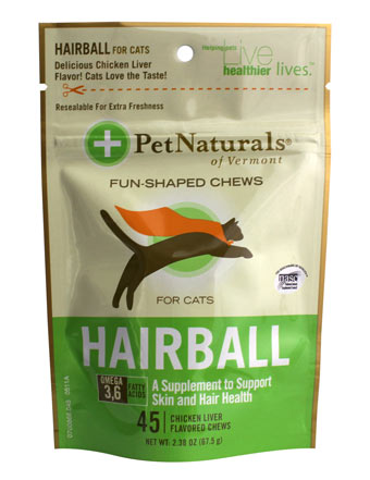 Pet Naturals Hairball 45ct