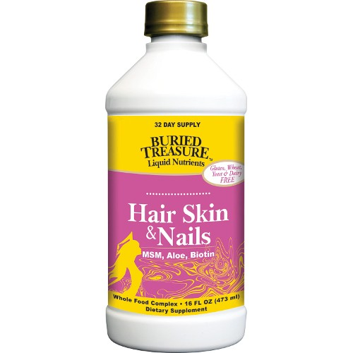 Buried Treasure Hair Skin & Nails Complete 16oz