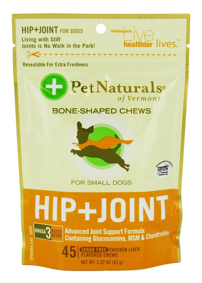 Pet Naturals Hip & Joint for Small Dogs 45ct