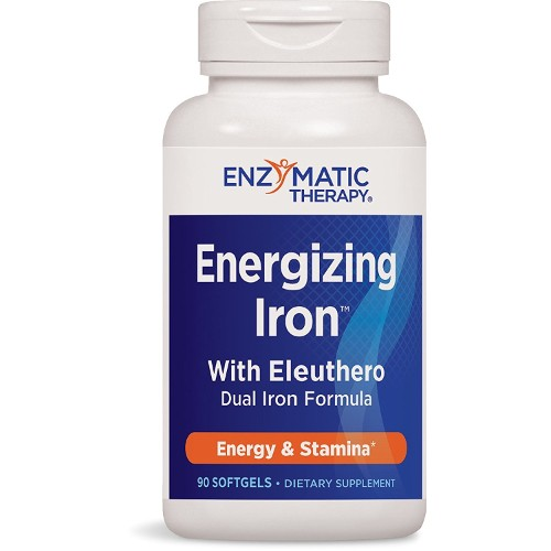 Enzymatic Therapy Iron With Eleuthero 90sg