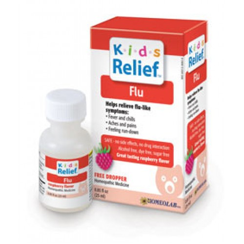 Homeolab Kids Relief Flu Relief 25ml