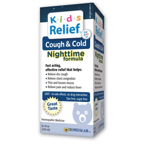Homeolab Kids Relief Cough & Cold Nite 8.5oz
