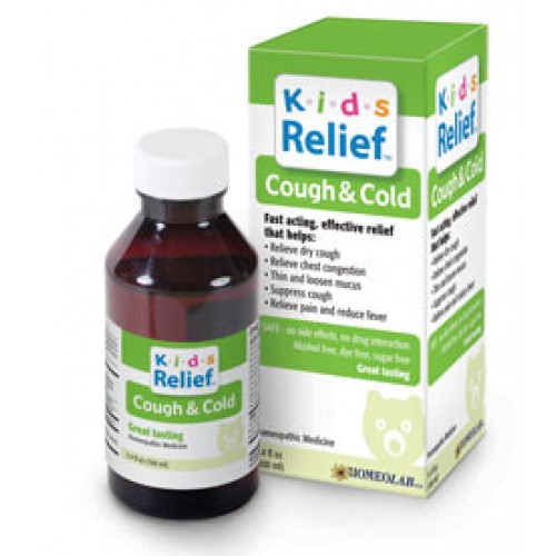 Homeolab Kids Relief Cough & Cold 3.4oz