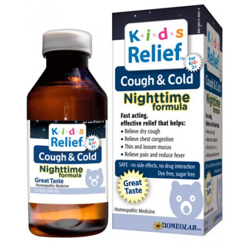 Homeolab Kids Relief Cold & Cough Nite 3.4oz