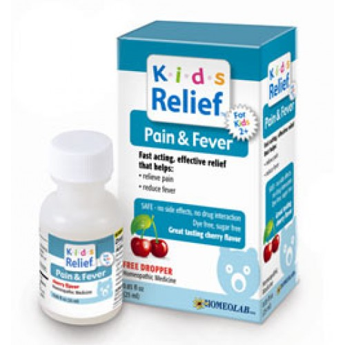 Homeolab Kids Relief Pain & Fever 25ml