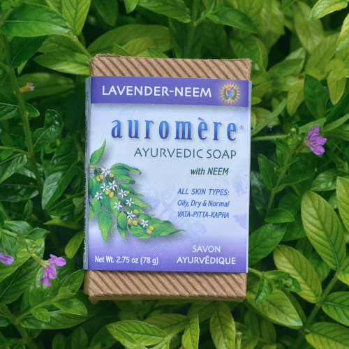Auromere Bar Soap Lavender Neem 2.75oz