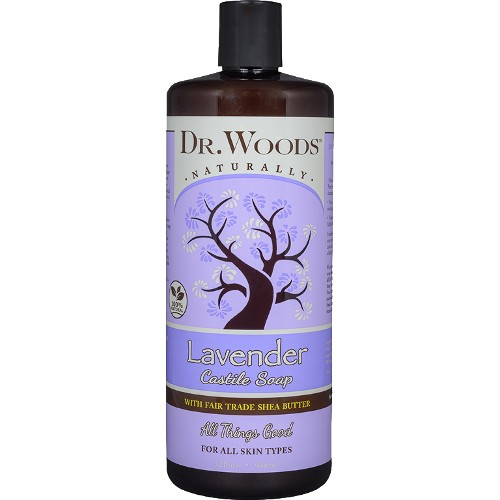 Dr. Woods Soap Lavender with Shea 32oz