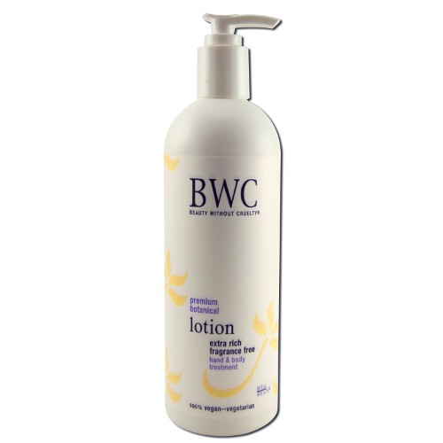 BWC Lotion Extra Rich Fragrance Free Hand & Body 16oz