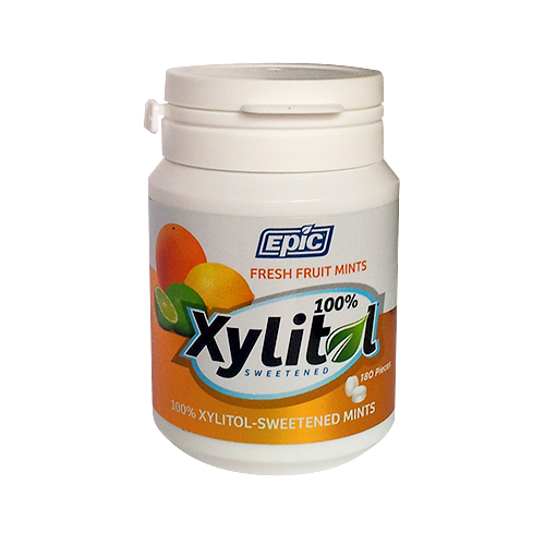 Epic Xylitol Mints Fresh Fruit Xylitol 180ct