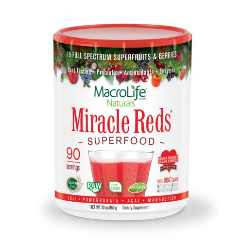 MacroLife Naturals Miracle Reds 90 Servings 30oz