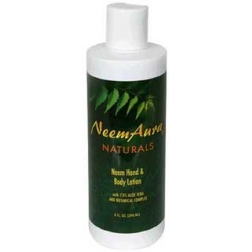 Neemaura Neem Hand & Body Lotion with Aloe 8oz