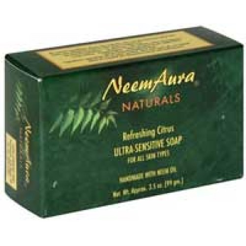 Neemaura Soap Refreshing Citrus 3.5oz