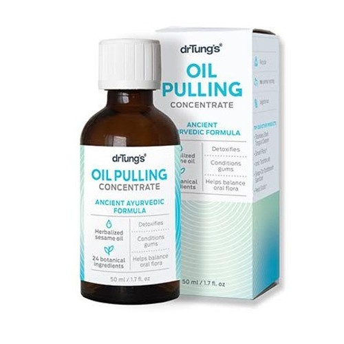 Dr. Tung's Products Oil Pulling Concentrate 1.7oz