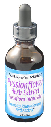 Nature's Vision AF Passion Flower Herb Extract 2 oz