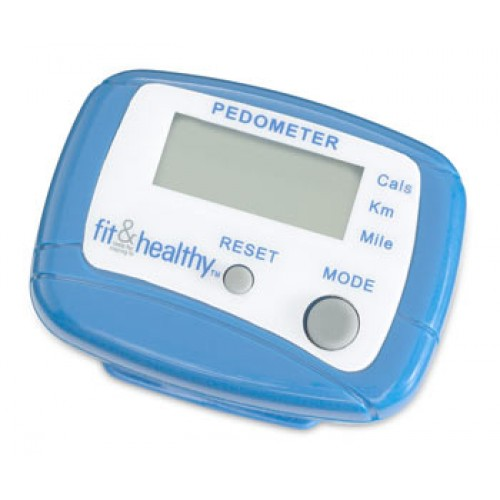 Fit & Healthy Pedometer ea