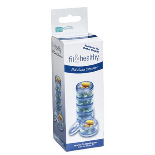 Fit & Healthy Pill Case Stacker 5ct Ea