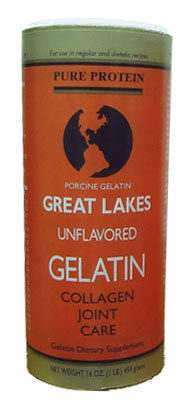 Great Lakes Gelatin Porcine (Orange) 1lb