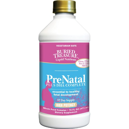 Buried Treasure PreNatal Plus DHA 16oz