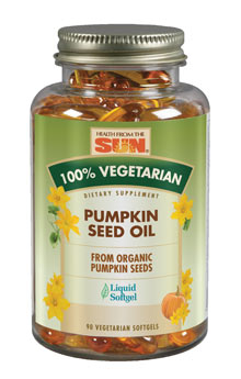 Health From the Sun 100% Vegetarian Pumpkin Seed Oil 90sg