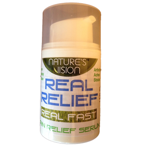 Nature's Vision Real Relief Pain Relief Serum 1.8oz