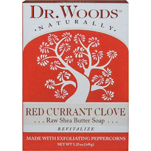 Dr. Woods Bar Soap Red Currant 5.25oz