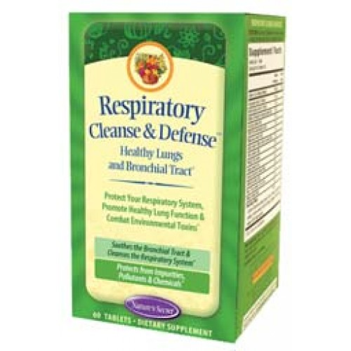 Nature's Secret Respiratory Cleanse & Defense 60 Tabs