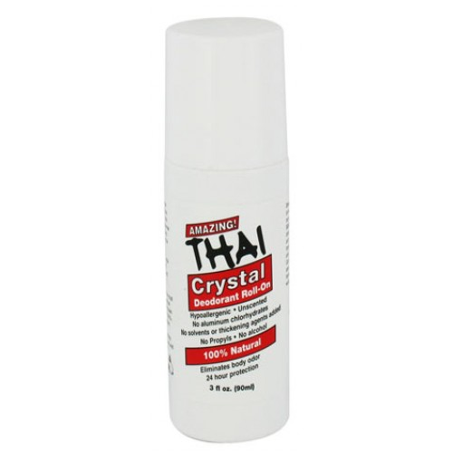 Deodorant Stone Roll-on Liquid 3oz