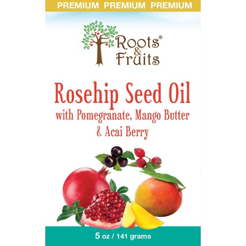 Bio Nutrition Roots & Fruits Bar Soap Rosehip Seed Oil 5oz