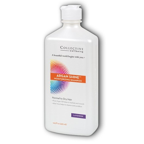 Collective Wellbeing Shampoo Argan Shine Lavender 14.5oz