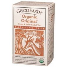 Good Earth Teas Sweet & Spicy Organic Caffeine Free 18bg