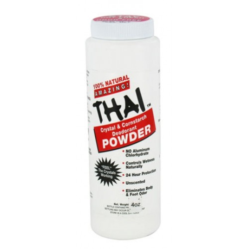 Deodorant Stones Thai Powder 4oz