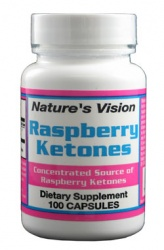 Nature's Vision Raspberry Ketones 100mg 100 caps
