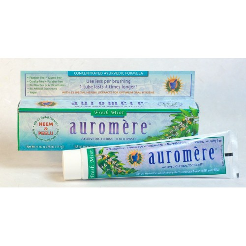 Auromere Toothpaste Freshmint 4.16oz