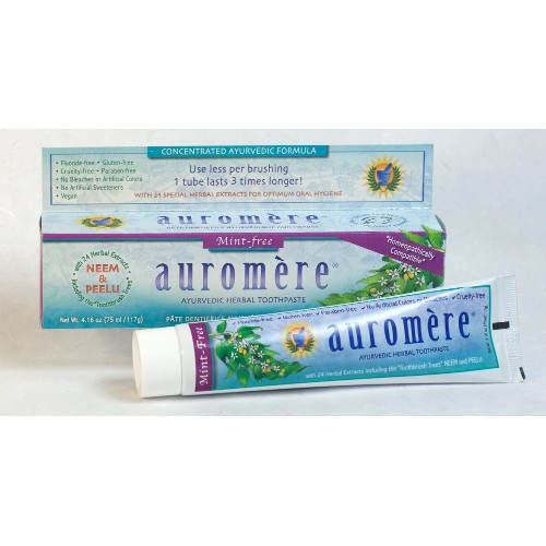 Auromere Toothpaste Mint Free 4.16oz