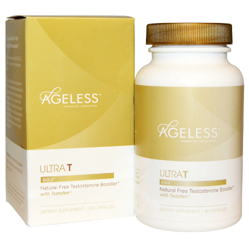 Ageless Foundation UltraT Gold 60cp